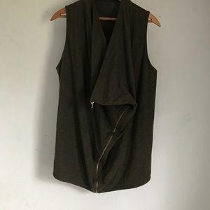 J. Crew Green Vest